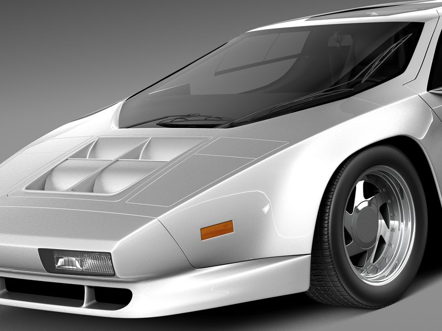 Vector W8 1990–1992 royalty-free 3d model - Preview no. 3
