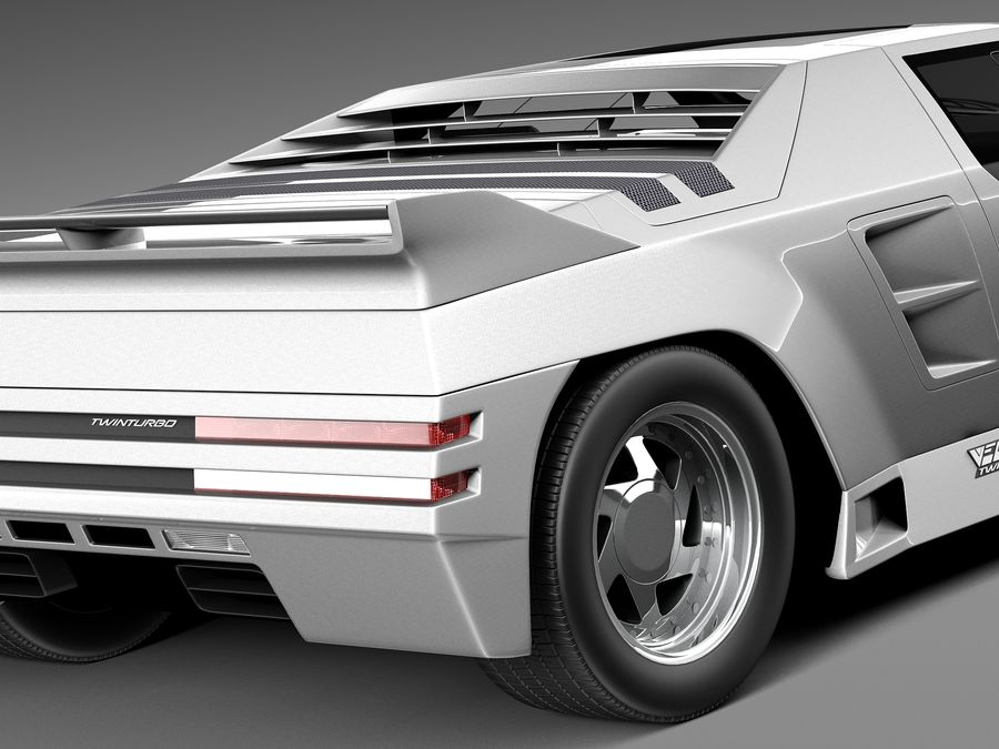 Vector W8 1990–1992 royalty-free 3d model - Preview no. 4