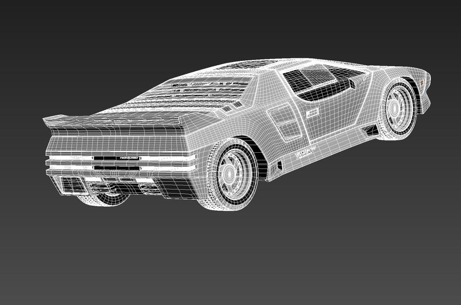 Vector W8 1990–1992 royalty-free 3d model - Preview no. 16