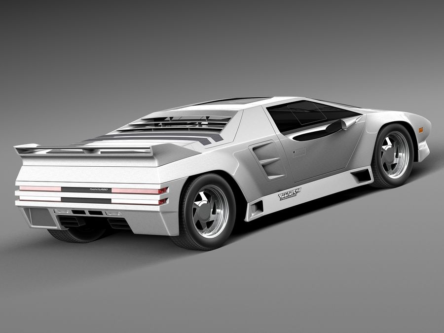 Vector W8 1990–1992 royalty-free 3d model - Preview no. 5