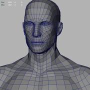 Model 3D człowieka 3d model