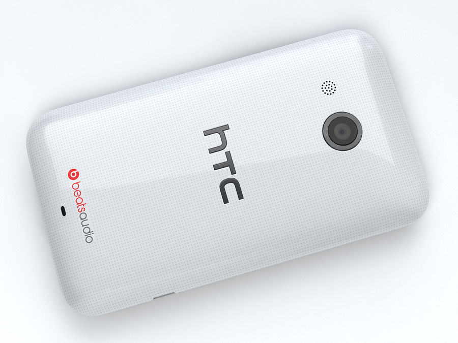 HTC Desire 200 royalty-free 3d model - Preview no. 12