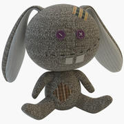 Sock Rabbit 3d model