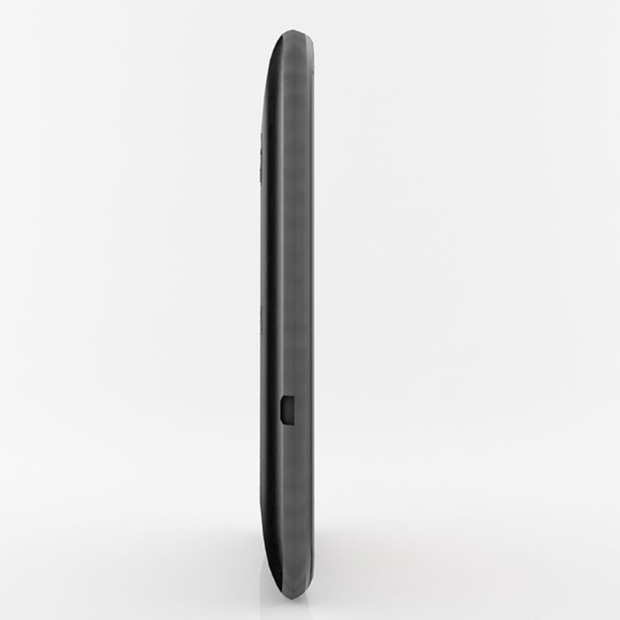 HTC Desire 200 Black royalty-free 3d model - Preview no. 7