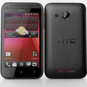 HTC Desire 200 Black 3d model