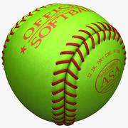ソフトボール 3d model