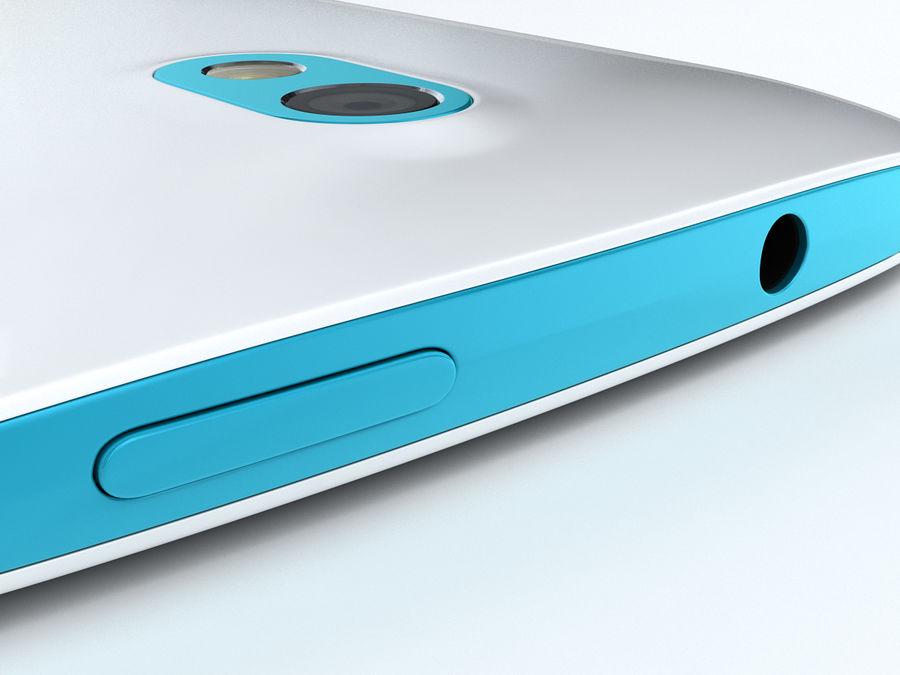 HTC Desire 500 royalty-free 3d model - Preview no. 18
