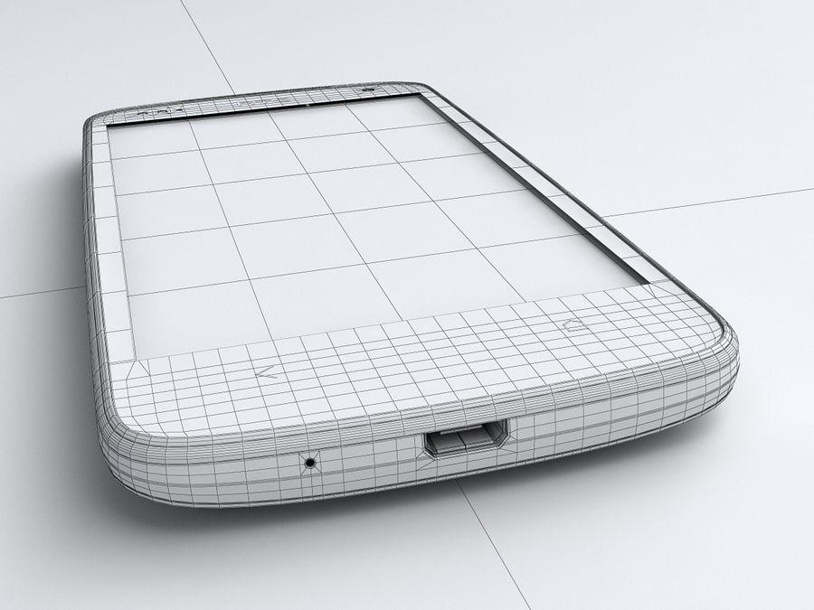 HTC Desire 500 royalty-free 3d model - Preview no. 24
