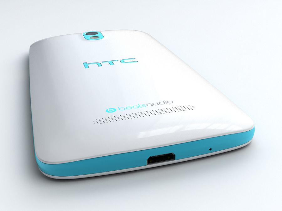 HTC Desire 500 royalty-free 3d model - Preview no. 8