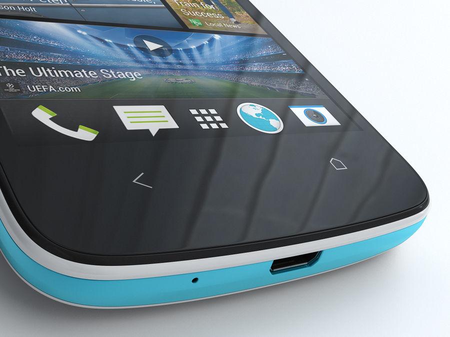 HTC Desire 500 royalty-free 3d model - Preview no. 13