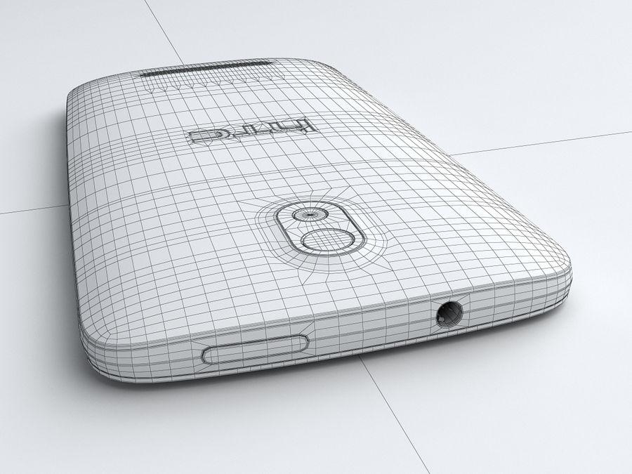HTC Desire 500 royalty-free 3d model - Preview no. 25