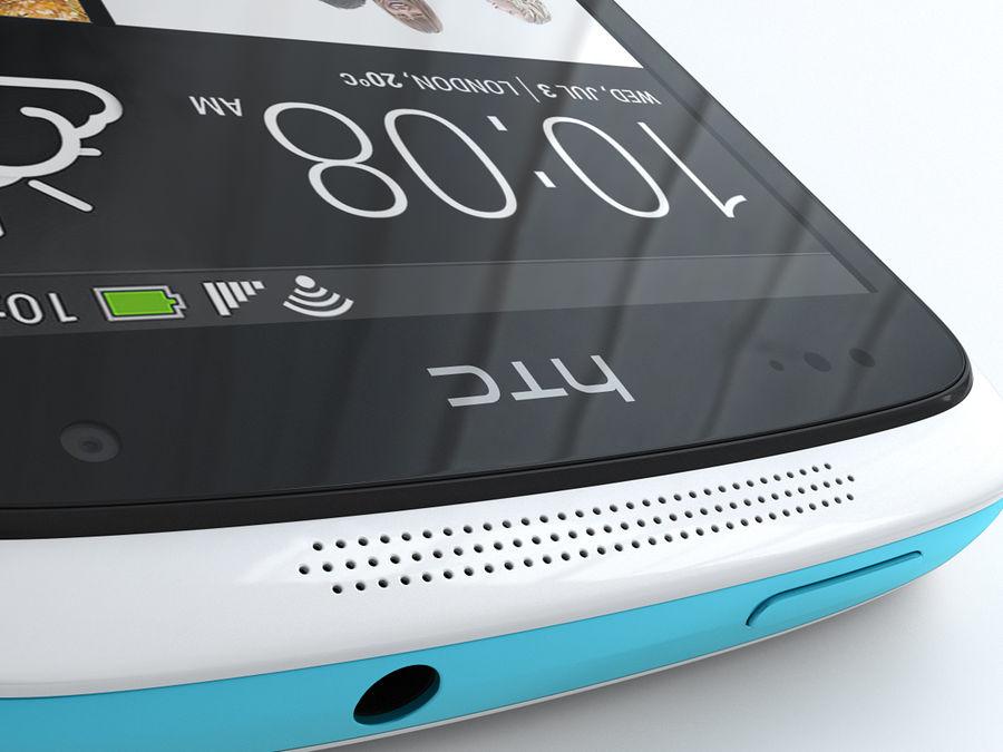 HTC Desire 500 royalty-free 3d model - Preview no. 14