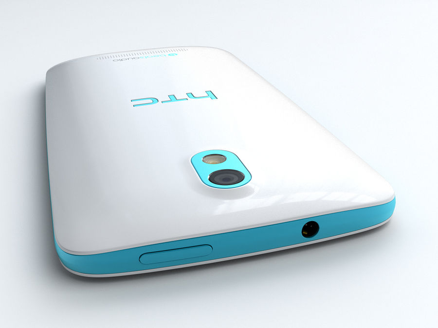 HTC Desire 500 royalty-free 3d model - Preview no. 7