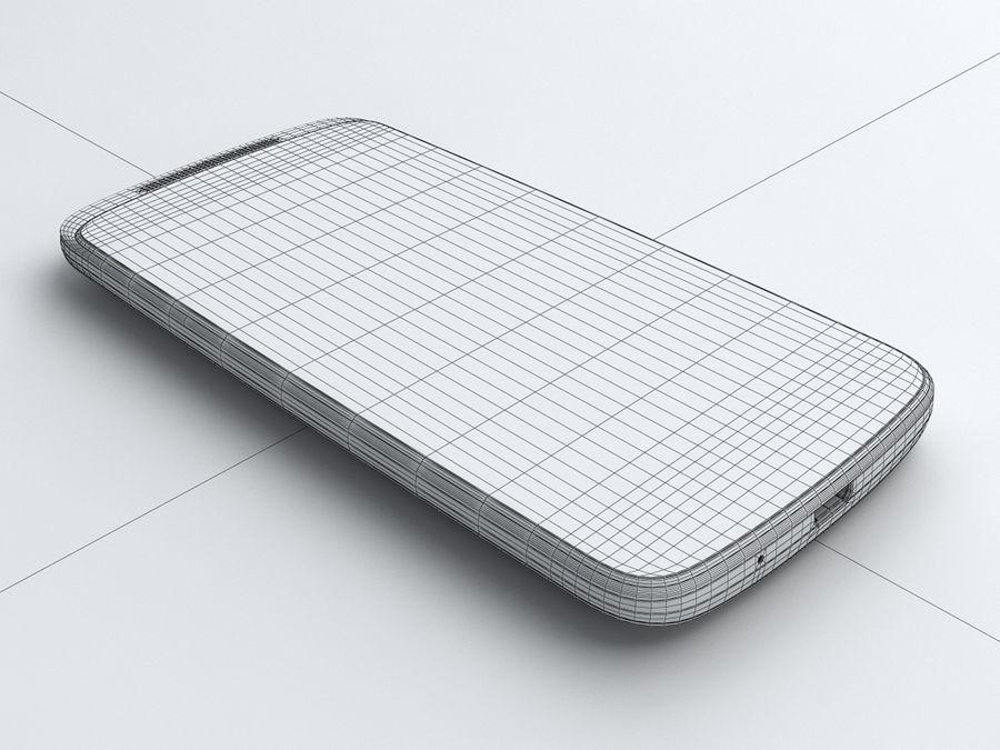 HTC Desire 500 royalty-free 3d model - Preview no. 21