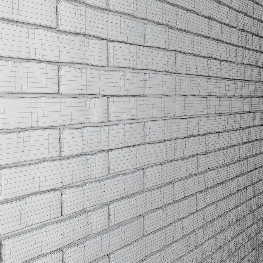 Brick Wall 01 royalty-free 3d model - Preview no. 7