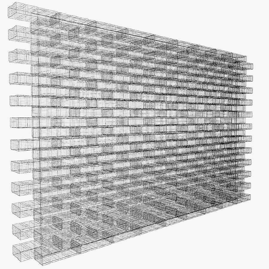 Brick Wall 01 royalty-free 3d model - Preview no. 4
