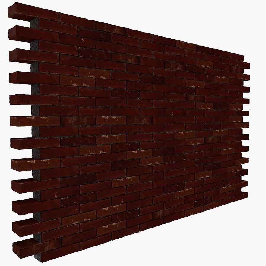 Brick Wall 01 royalty-free 3d model - Preview no. 1