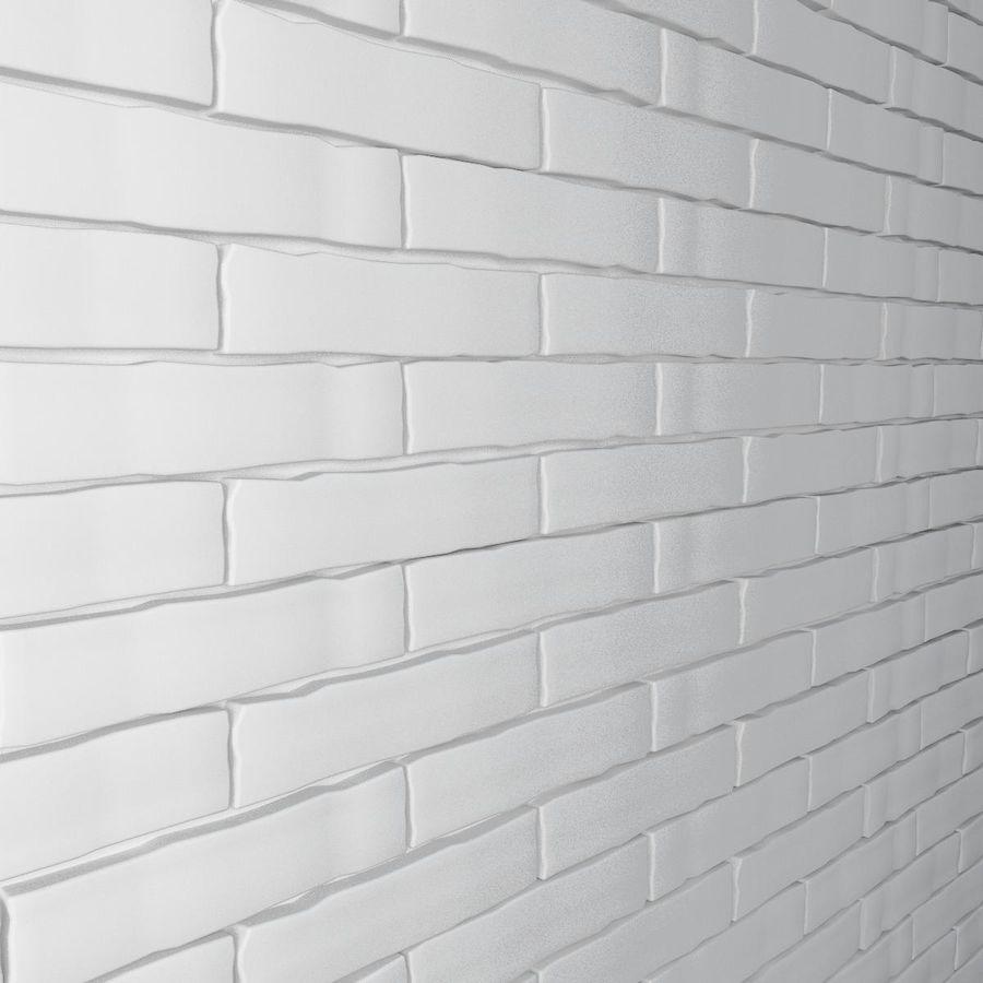 Brick Wall 01 royalty-free 3d model - Preview no. 6