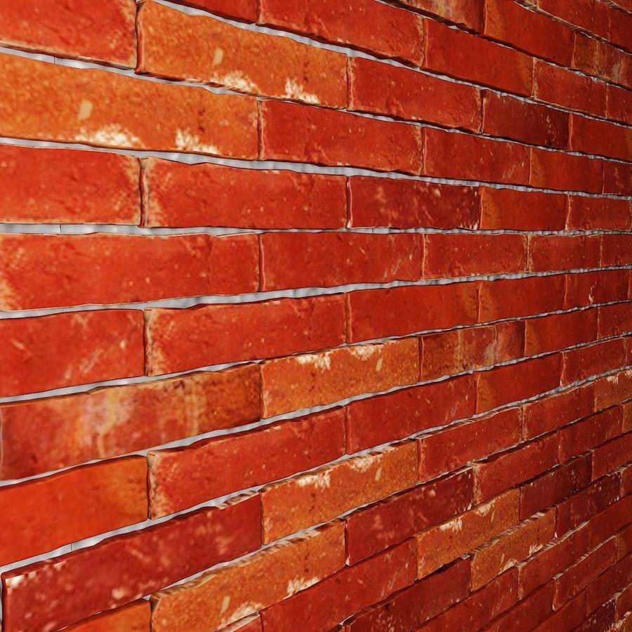 Brick Wall 01 royalty-free 3d model - Preview no. 5