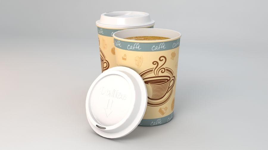 Paper coffee cup 3D Model $20 -  obj  ma  lxo  fbx - Free3D
