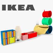 IKEA Möbel für einen Kindergarten 3d model