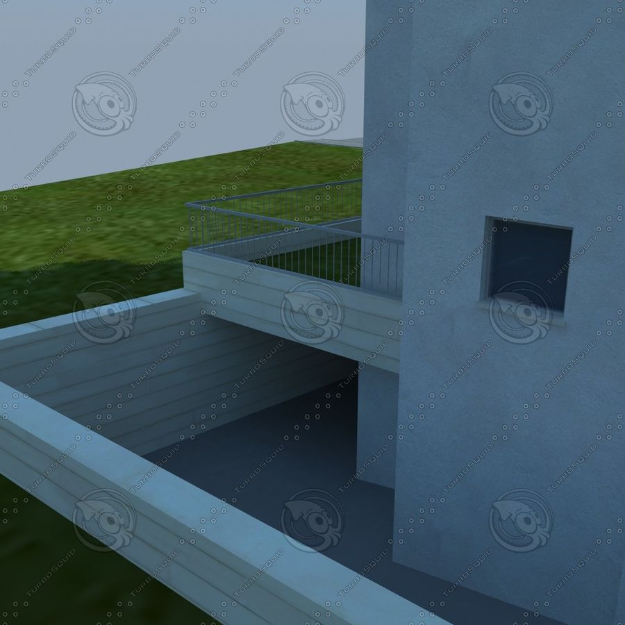 buildings(6) royalty-free 3d model - Preview no. 10