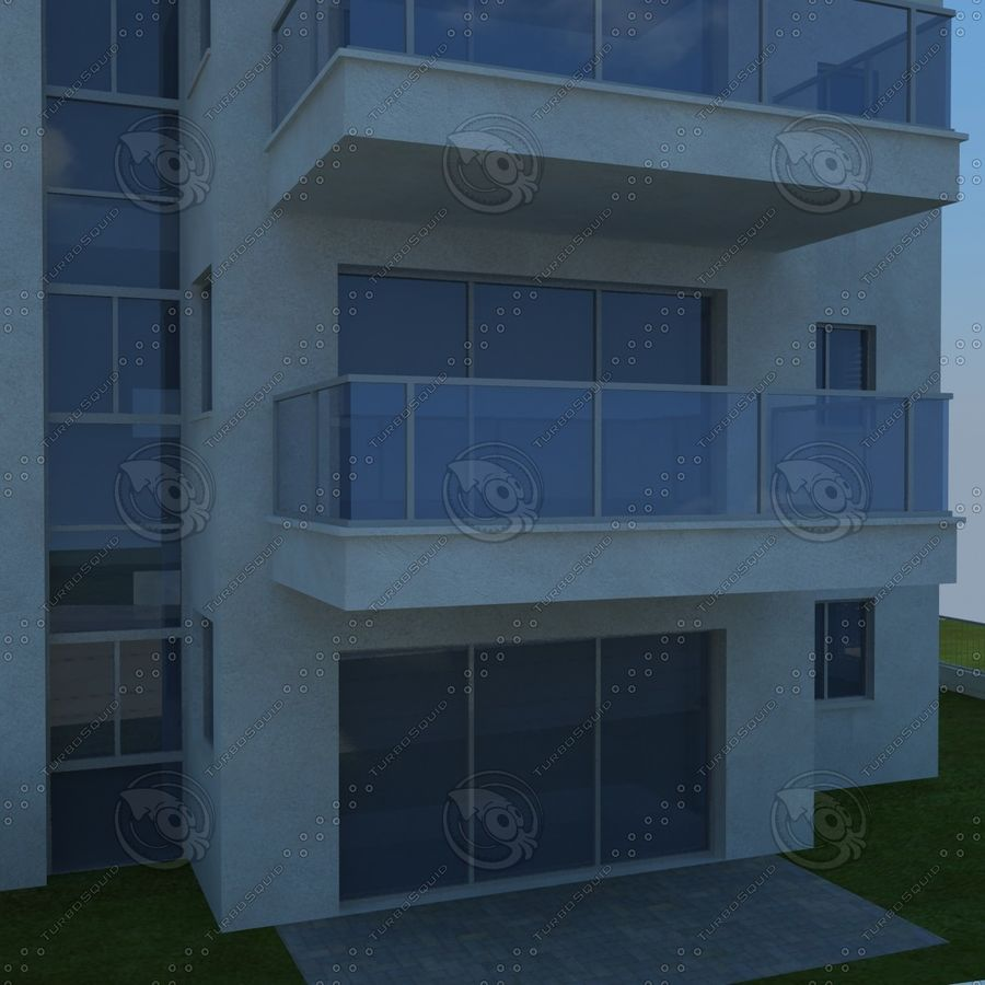 buildings(6) royalty-free 3d model - Preview no. 16