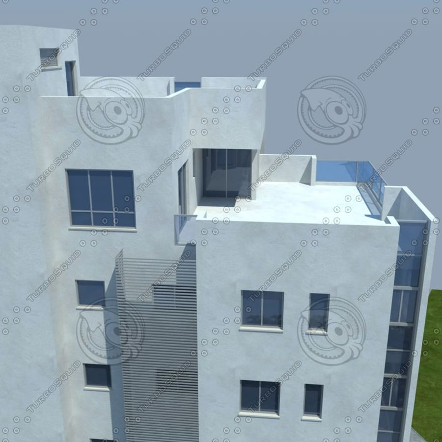 buildings(6) royalty-free 3d model - Preview no. 20