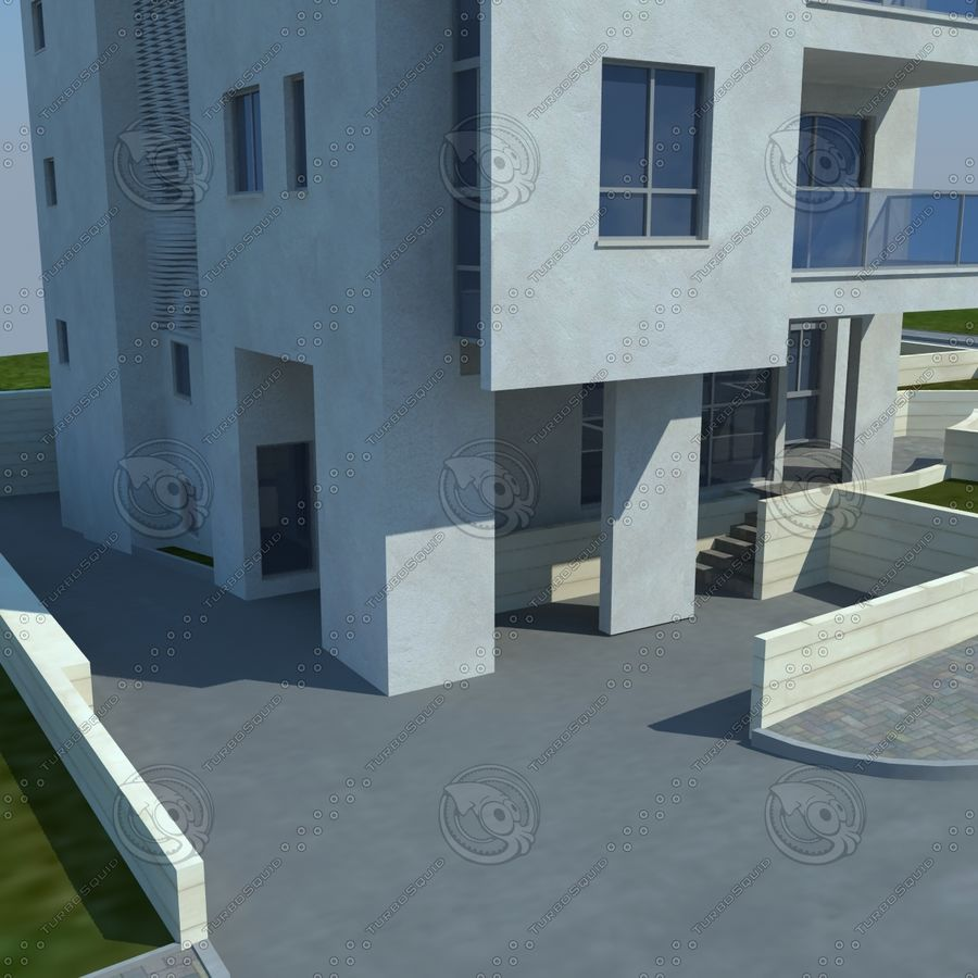buildings(6) royalty-free 3d model - Preview no. 6