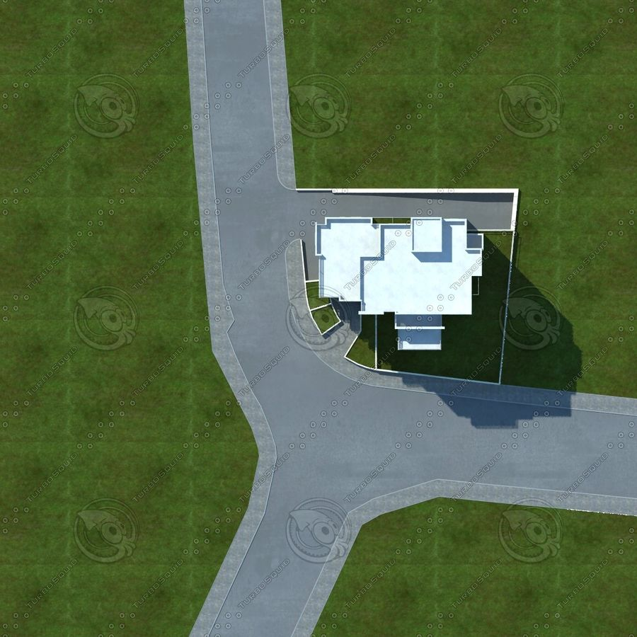 buildings(6) royalty-free 3d model - Preview no. 22