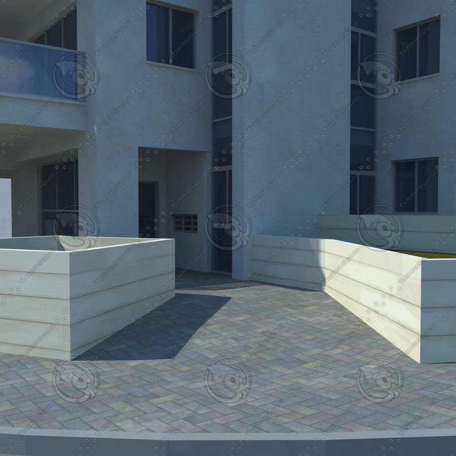 buildings(6) royalty-free 3d model - Preview no. 13