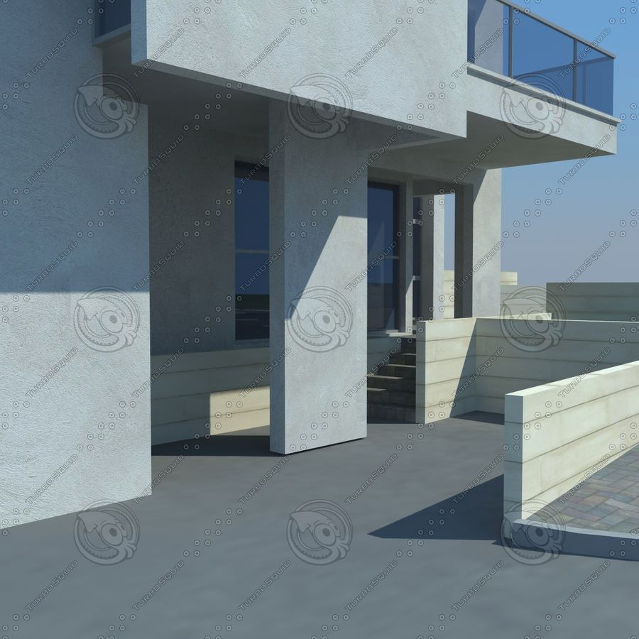 buildings(6) royalty-free 3d model - Preview no. 8