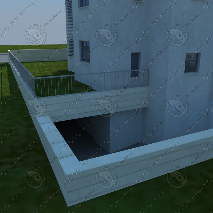 buildings(6) royalty-free 3d model - Preview no. 11