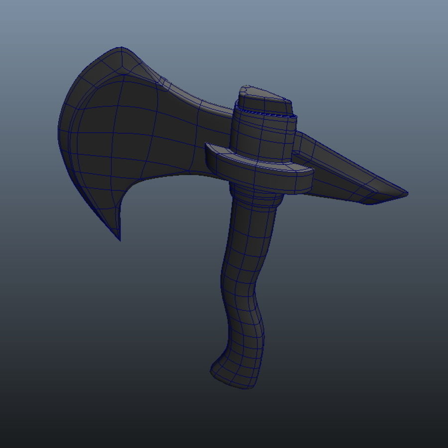 Ancient Weapon_04 royalty-free 3d model - Preview no. 2