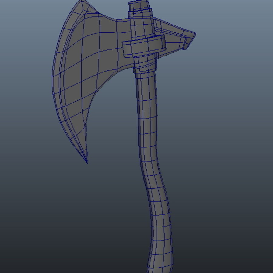 Ancient Weapon_04 royalty-free 3d model - Preview no. 3