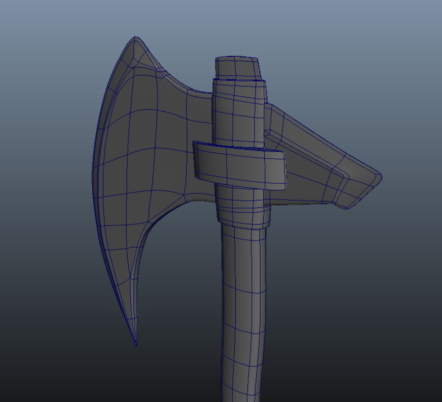 Ancient Weapon_04 royalty-free 3d model - Preview no. 5