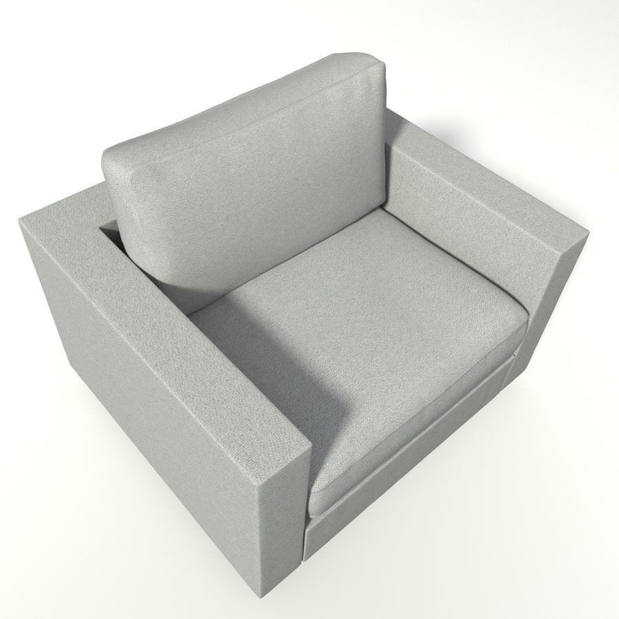 Modern Chair royalty-free 3d model - Preview no. 3