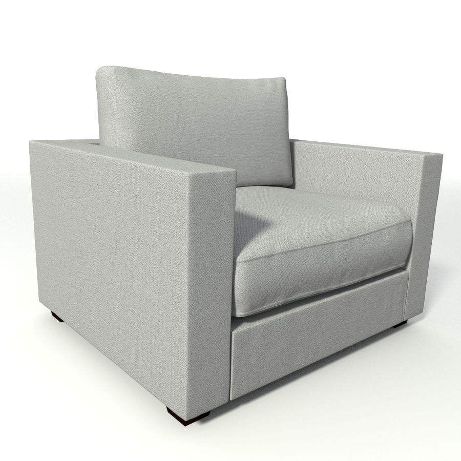 Modern Chair royalty-free 3d model - Preview no. 2