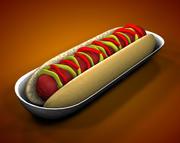 hotdog 3d model