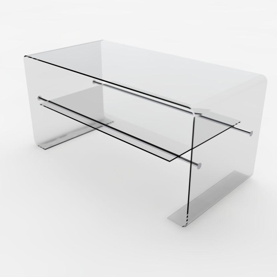 Mesa de tv moderna royalty-free modelo 3d - Preview no. 2