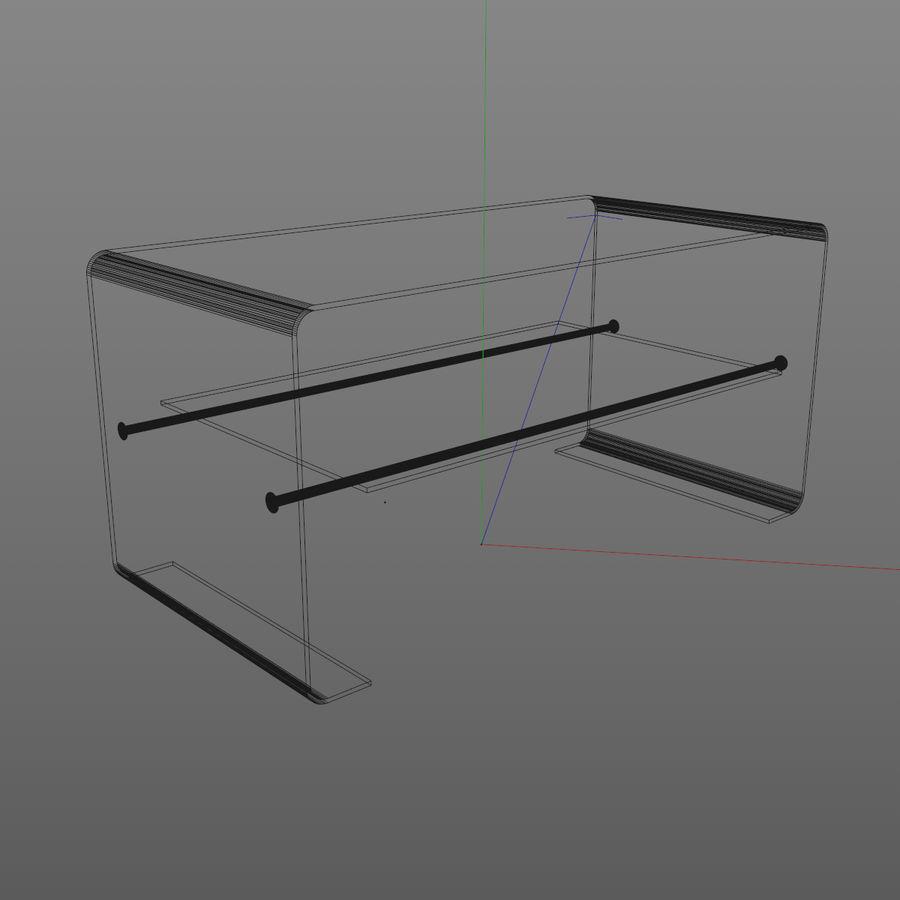 Mesa de tv moderna royalty-free modelo 3d - Preview no. 5