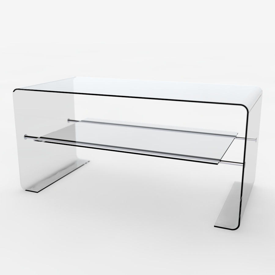 Mesa de tv moderna royalty-free modelo 3d - Preview no. 1