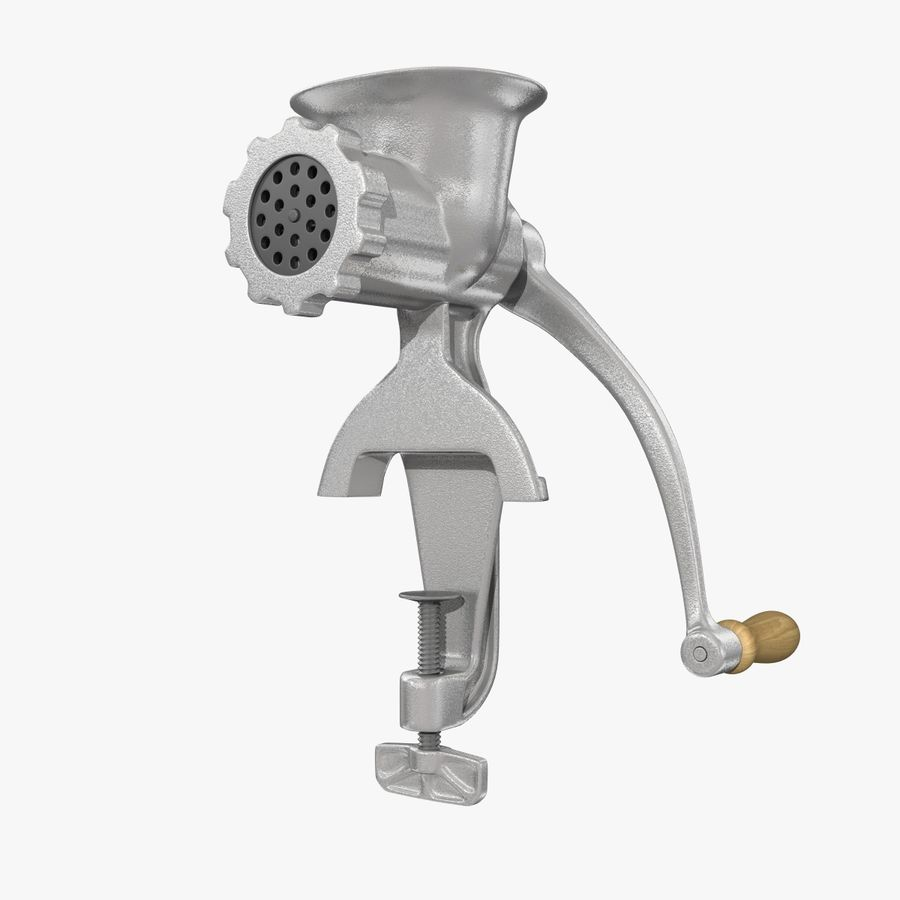 Meat Grinder royalty-free 3d model - Preview no. 1