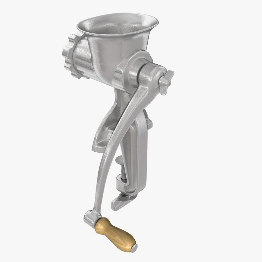 Meat Grinder royalty-free 3d model - Preview no. 8