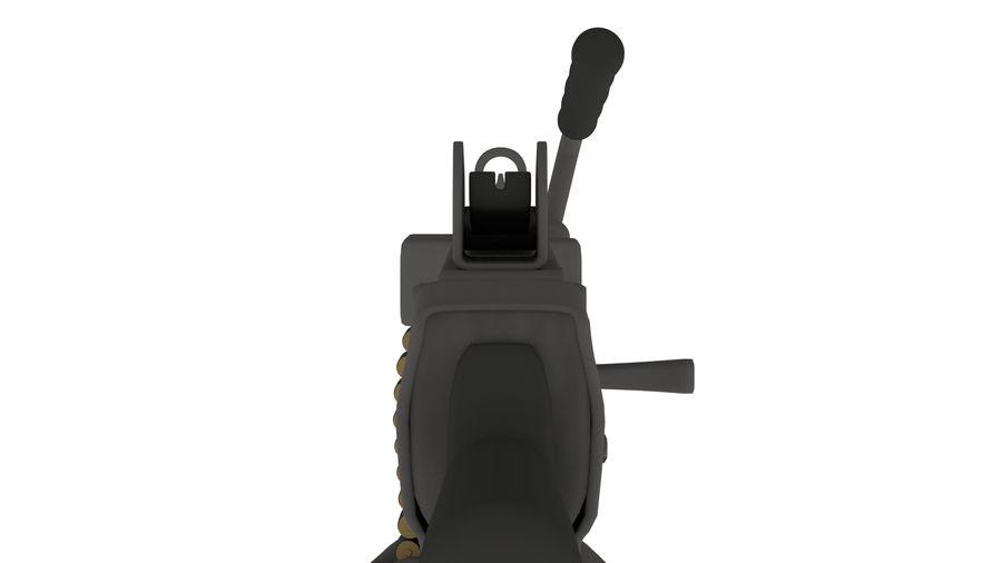 M249 Saw royalty-free 3d model - Preview no. 4
