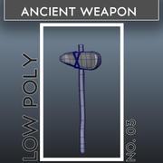 古代武器_03 3d model