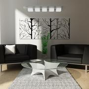 Pequeña sala de estar modelo 3d