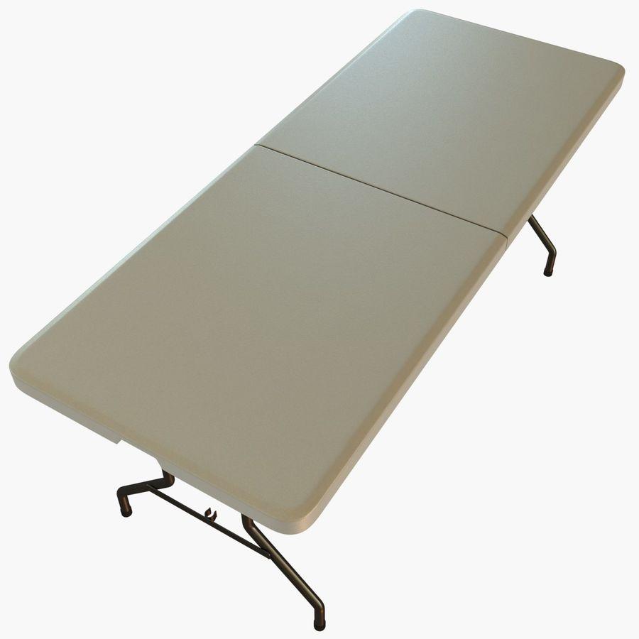 Środkowy stół składany royalty-free 3d model - Preview no. 6