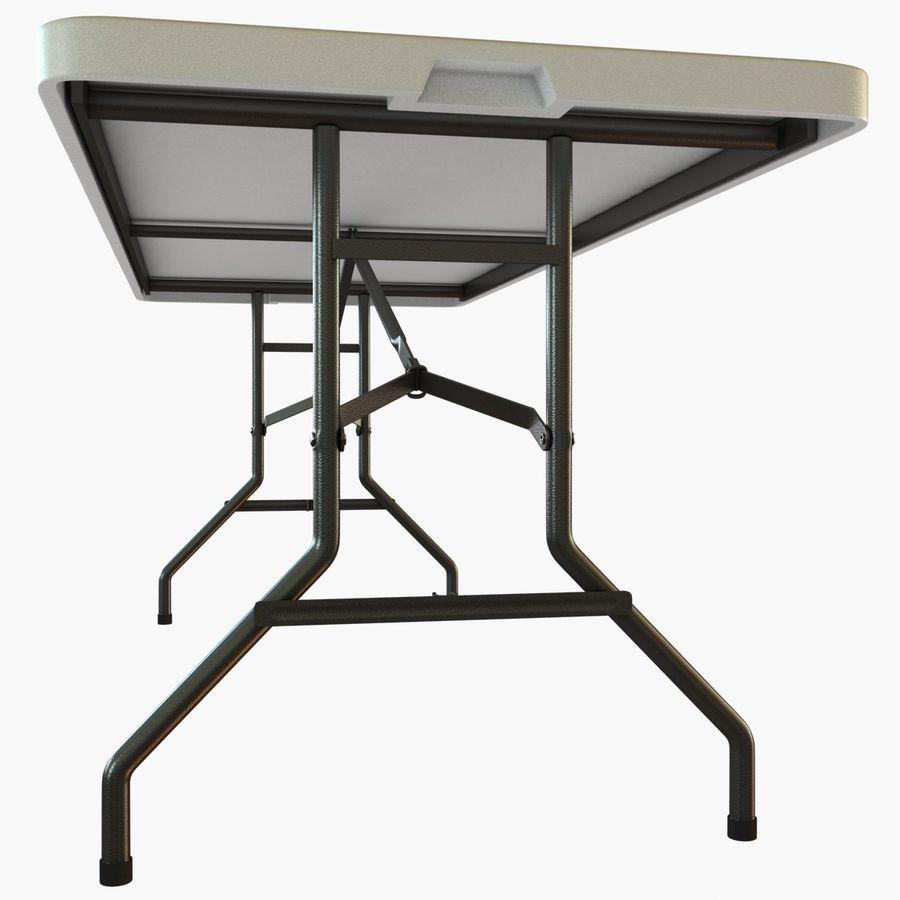Środkowy stół składany royalty-free 3d model - Preview no. 4