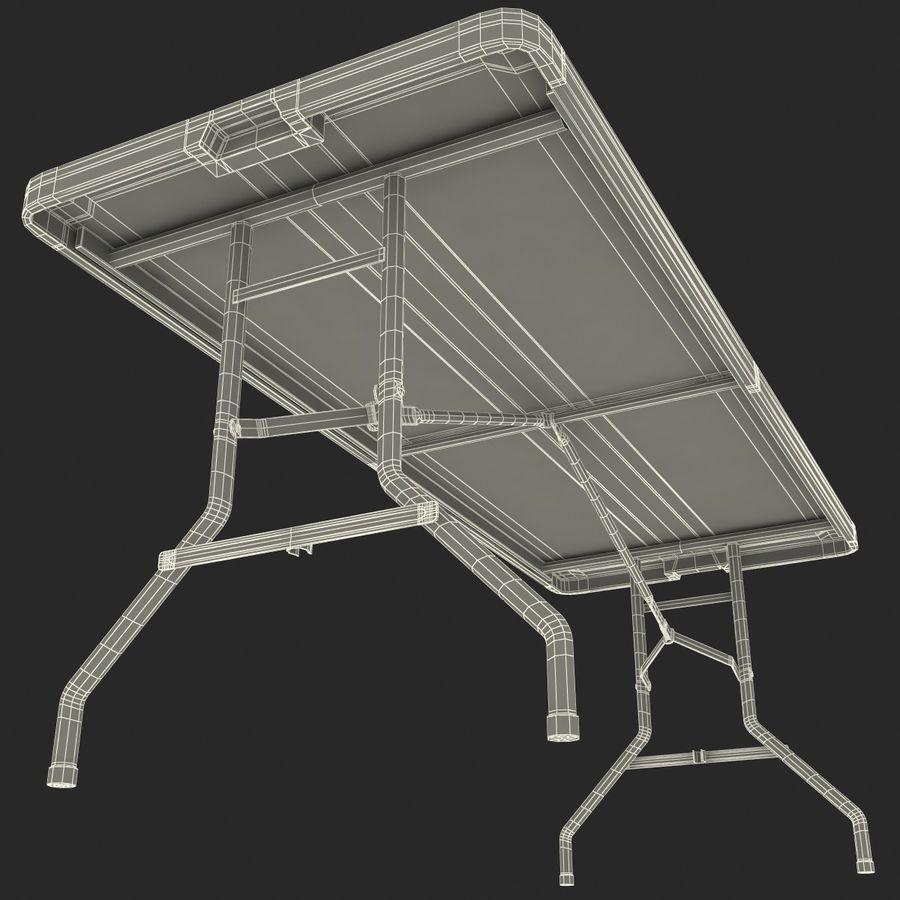 Środkowy stół składany royalty-free 3d model - Preview no. 13